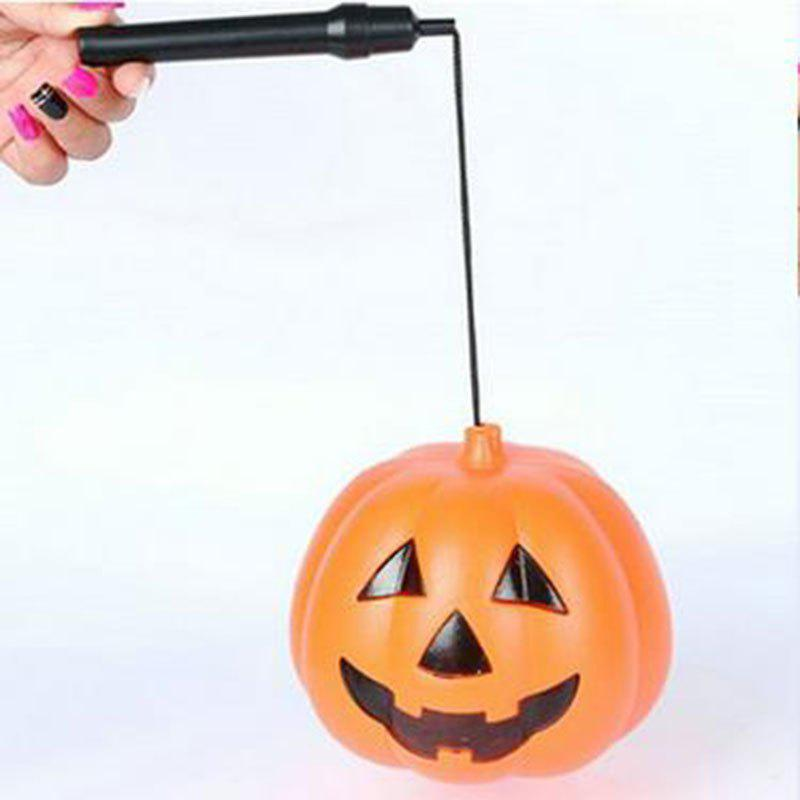 Online Easter Halloween Glowing Pumpkin Lantern Witch Costume Props for Cosplay Props L