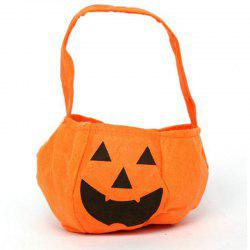 Alloween Products Portable Stereo Pumpkin Pumpkins Bag Non-Woven Bags Bags of Sw -