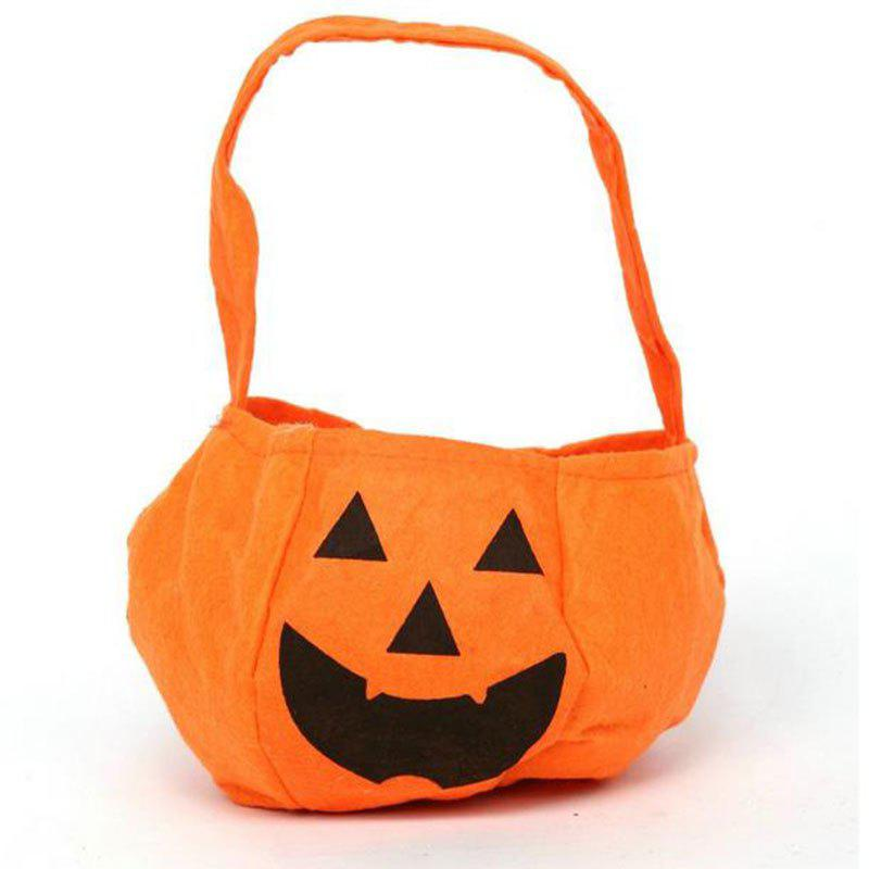 Discount Alloween Products Portable Stereo Pumpkin Pumpkins Bag Non-Woven Bags Bags of Sw