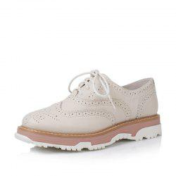 Louise et Cie Women's Strappy Oxfords Solid Color Fashion Ladylike Shoes -