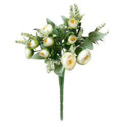 Saturna Silk Home Decoration Branch of Artificial Flowers -