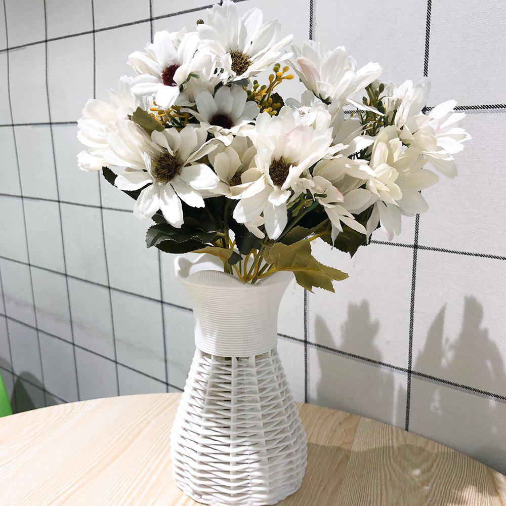Chic Silk White Daisy Pastoral Style Home Decoration Artificial Flower