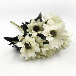 5 Heads Silk Daisy Home Decoration Pastoral Style Artificial Flower -