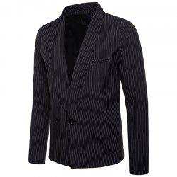 Stripe Fashion Casual Men's Suit -