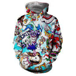 New Fashion Casual Strange Imprimé 3D Sweat à capuche -