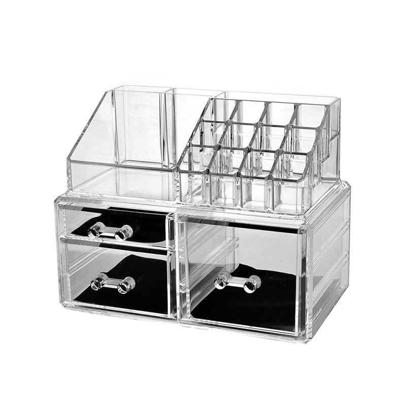Store Cosmetic Storage Box Combination Cosmetic Storage Free Stacking Storage Cabinet