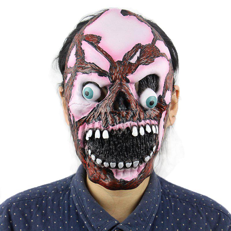 Online Horrible Zombie Skeleton Halloween Mask