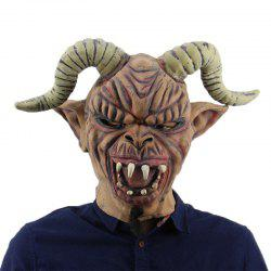 Horrible Long Horn Evil Halloween Mask for Cosplay Party -