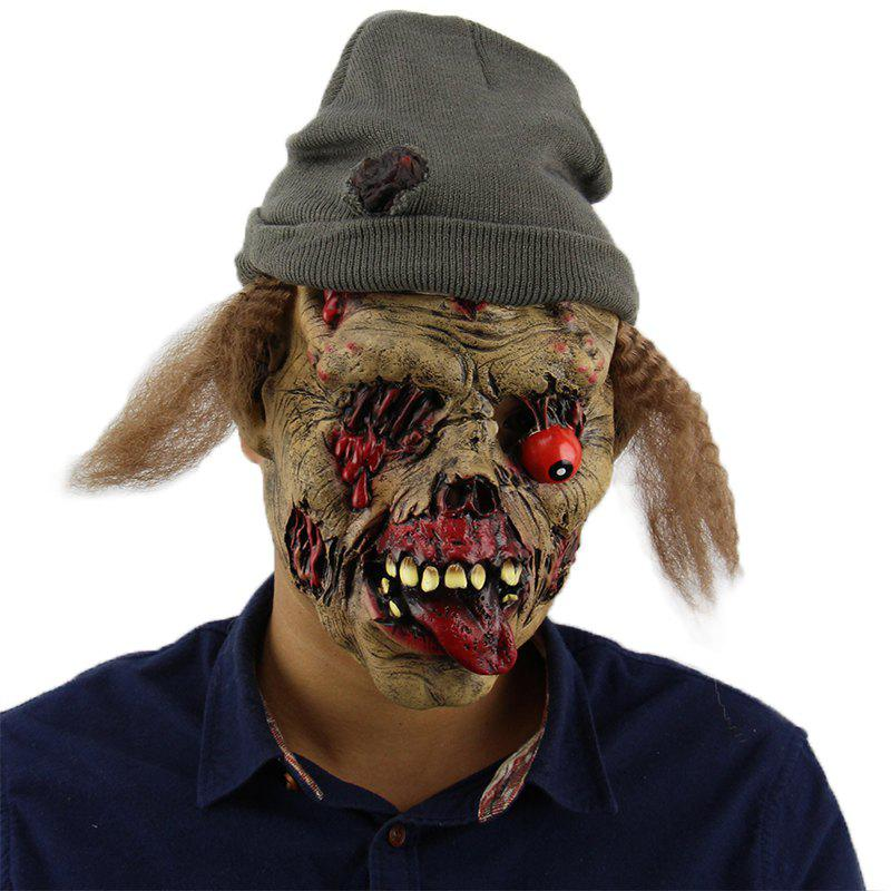 Masque de Halloween horrible mal zombie pour mascarade