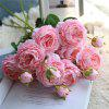 European Style Cabbage Rose Artificial Flower Bridal Bouquet Home Decorations -