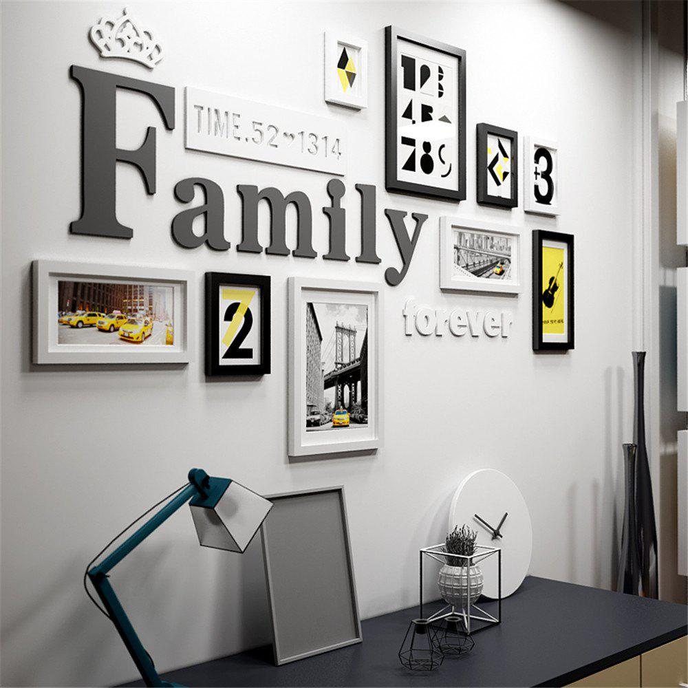 Shops Wall Picture Set Modern Designed Photo Frames Home Wall Decor