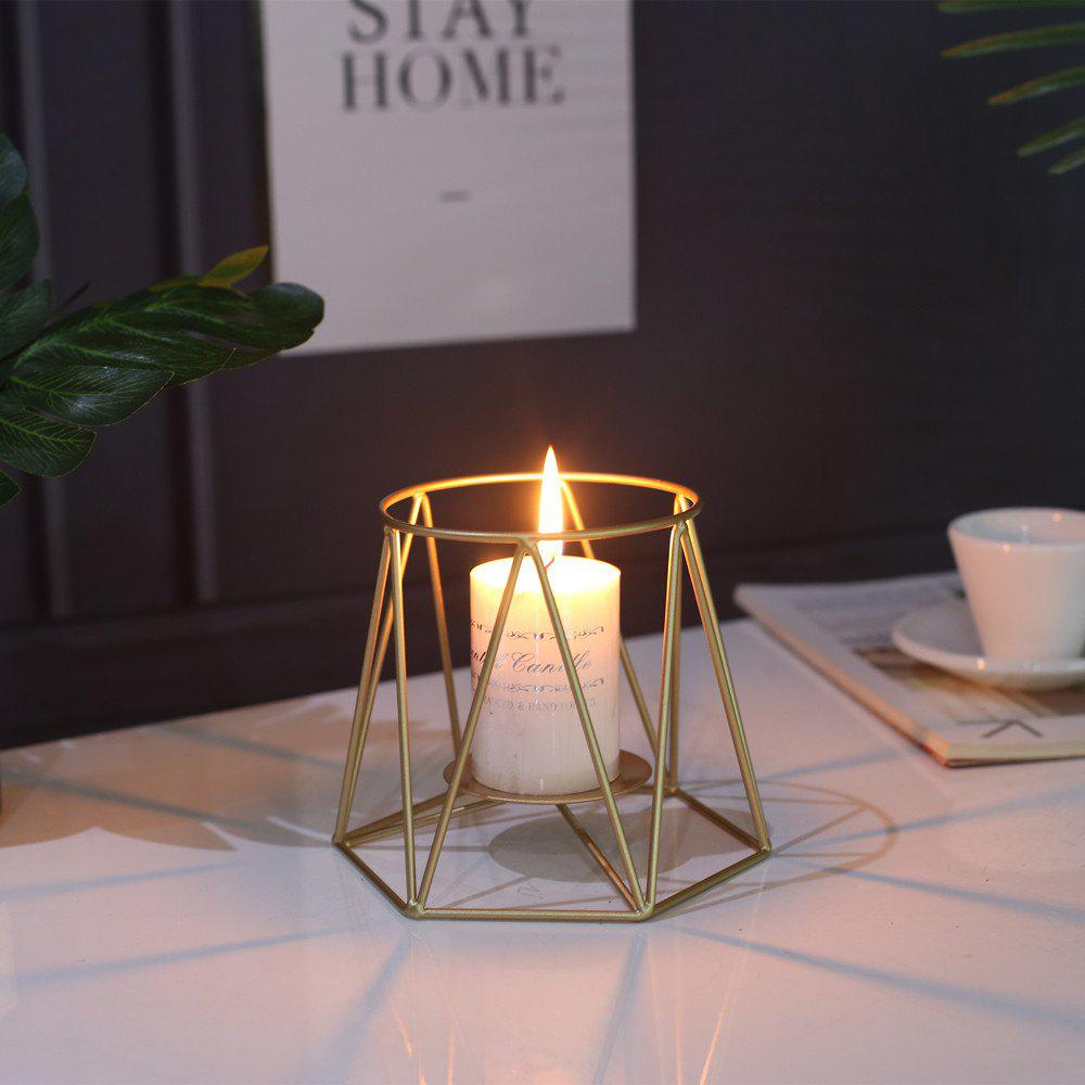 New Modern Style Candle Holder Metal Candlestick Wedding Party Decorations