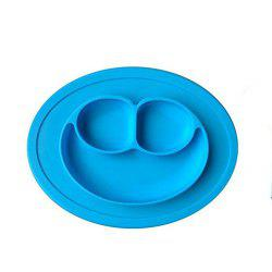 Kids Silicone Placemat Plate Dish Food Tray Table Mat for Baby Toddler -