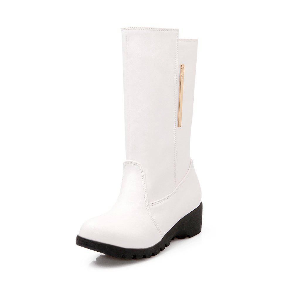 Store Leisure Student Warm Middle Tube Boots