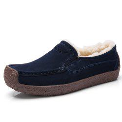 New Winter Style Soft Bottom and Velvet Anti Slip Cotton Shoes -