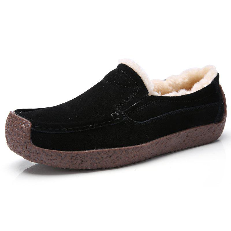 Fashion New Winter Style Soft Bottom and Velvet Anti Slip Cotton Shoes