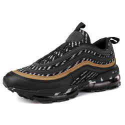 Men'S Lightweight Shock Absorption Breathable Flying Mesh Sports Running Shoes -