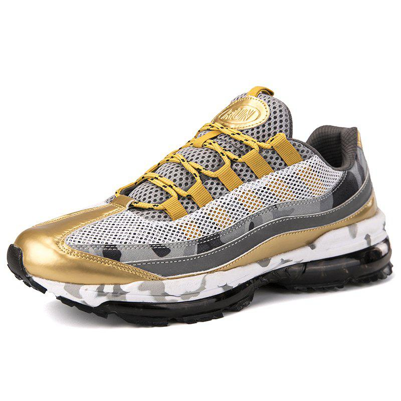 Shop Men'S  Breathable Lightweight Flying Woven Mesh Sports Shoes