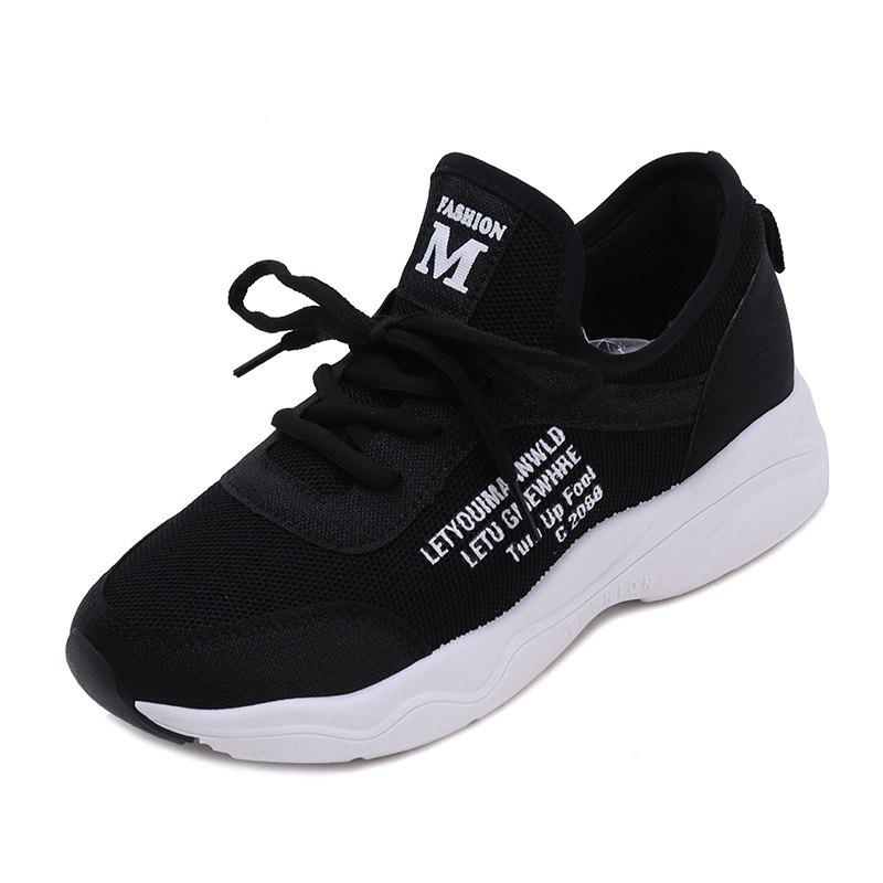 Unique Front Lace Flat Bottomed Autumn Style Casual Casual Sports Shoes