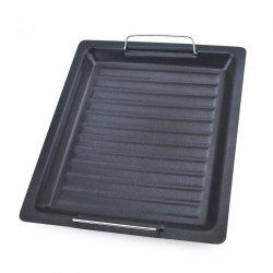 Square Shape Grilling Pan Non-Stick Pans Pizza Cake Baking Tray BBQ -