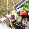 BBQ Tools Brushes Clips Outdoor Camping Barbecue Accessories -
