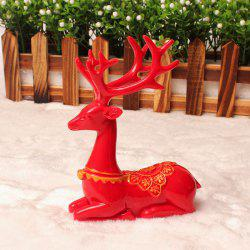 Deer Furnishing Articles Resin Ornament Fashion Wedding Gift Christmas Gift -
