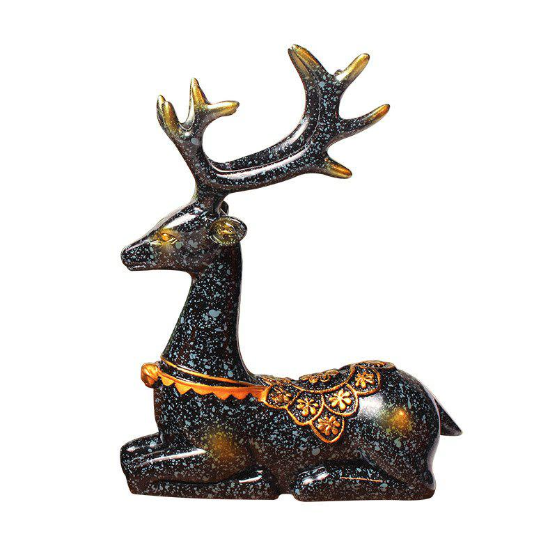 Latest Deer Furnishing Articles Resin Ornament Fashion Wedding Gift Christmas Gift