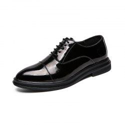 Men'S Shoes Leather Formal Shoes Business Leather Shoes -