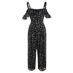 Fashion Small Pieces of Fungus  Large Size Jumpsuit -