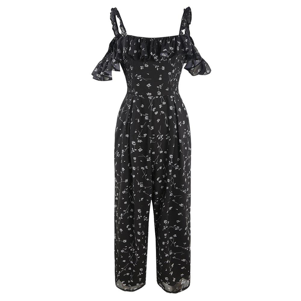 Shop Fashion Small Pieces of Fungus  Large Size Jumpsuit