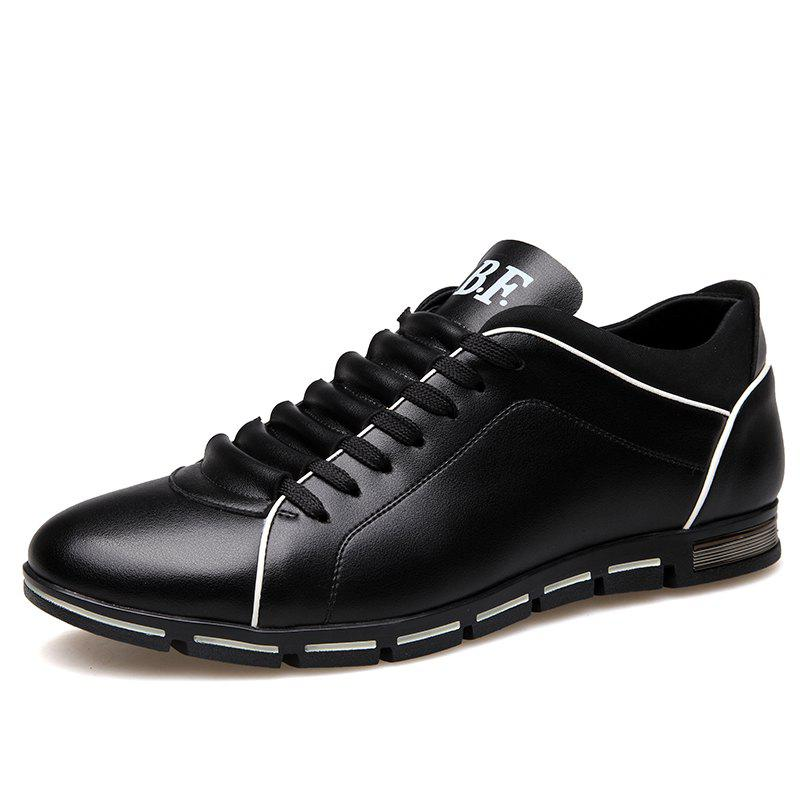 Fashion Big Yards Men'S Shoes Men'S Dress Shoes Lace-Up Shoes Leisure 38-50 Yards