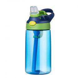 Leakproof and Anti Dropping Child Suction Cup Portable Water Cup  Blue -