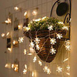 Christmas Indoor Outdoor LED Snowflake Lights -