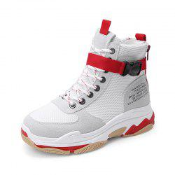 Autumn and Winter High Top Super Fire Old Shoes Sneakers -