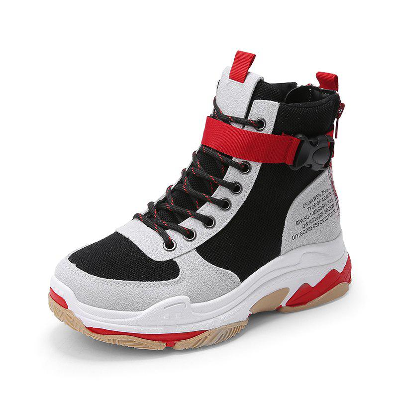 Buy Autumn and Winter High Top Super Fire Old Shoes Sneakers