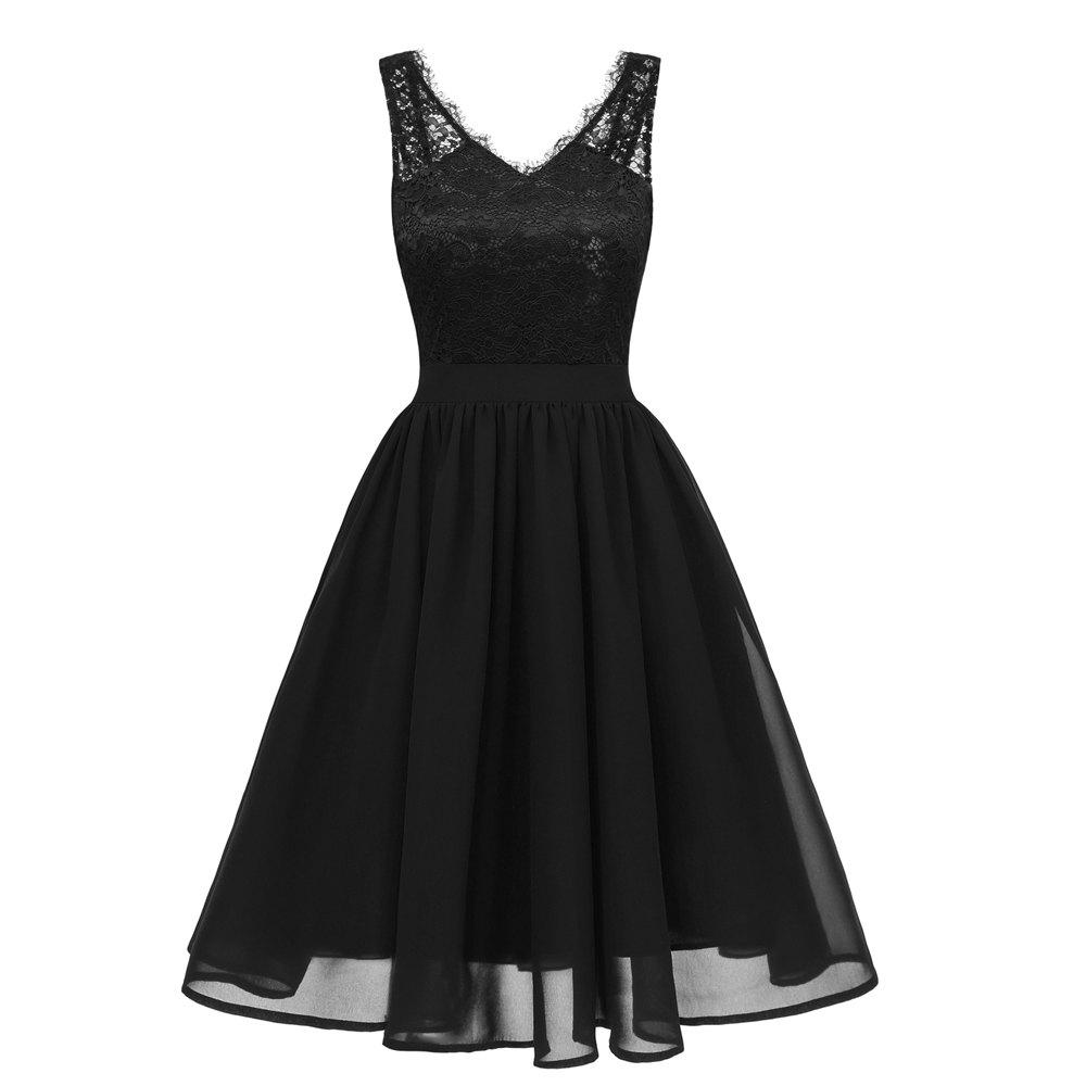 Fancy Lady V Collar Lace Sexy Dress
