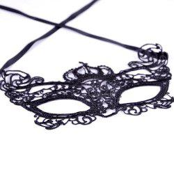 Sexy Women Black Lace Masquerade Mask Halloween Cosplay Carnaval Party Prop 013 -