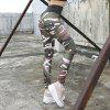 High Waist Camouflage Printging Yoga Pants Leggings -