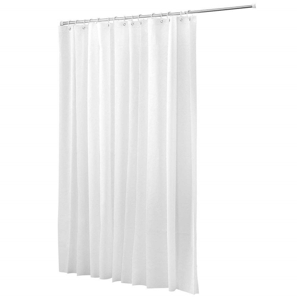 Shower Curtain liner PEVA Mildew Free Water Repellent