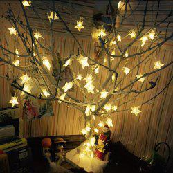 10LED Batterie Star Lights -