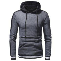 Pull à capuche Wild Sleeve Spell Color Men Leisure Wild -
