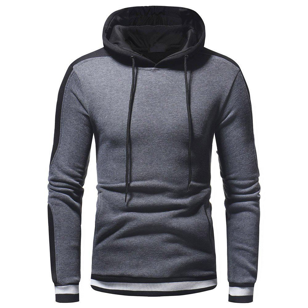 Pull à capuche Wild Sleeve Spell Color Men Leisure Wild