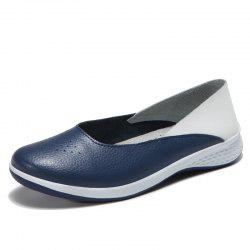 Autumn Recreational Sports Leather Women Comfortable and Comfortable Flat Shoes -