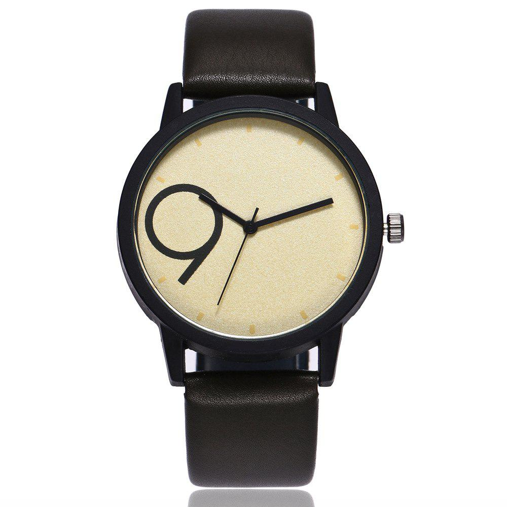Shops Creative Contracted Scale Leisure Quartz Watch