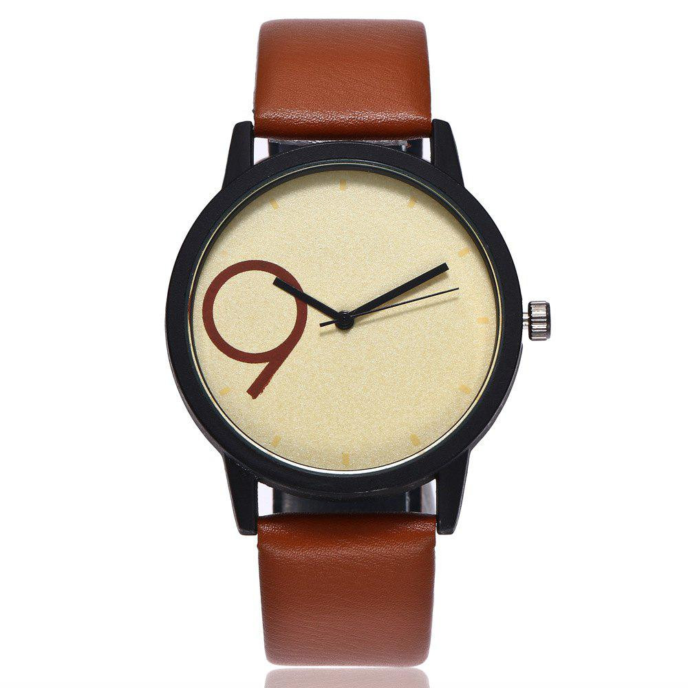Hot Creative Contracted Scale Leisure Quartz Watch