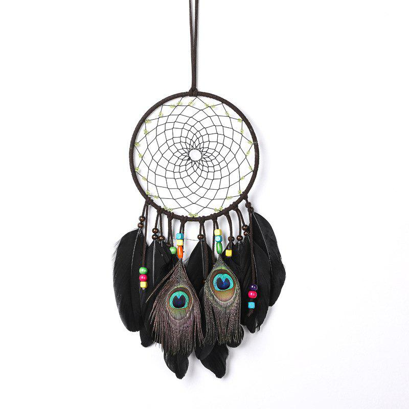 Dreamcatcher Wind Chimes Pendentif de plumes de style indien Dream Catcher