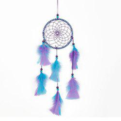 Handmade Feather Dream Catcher for Home Wall Decorations -