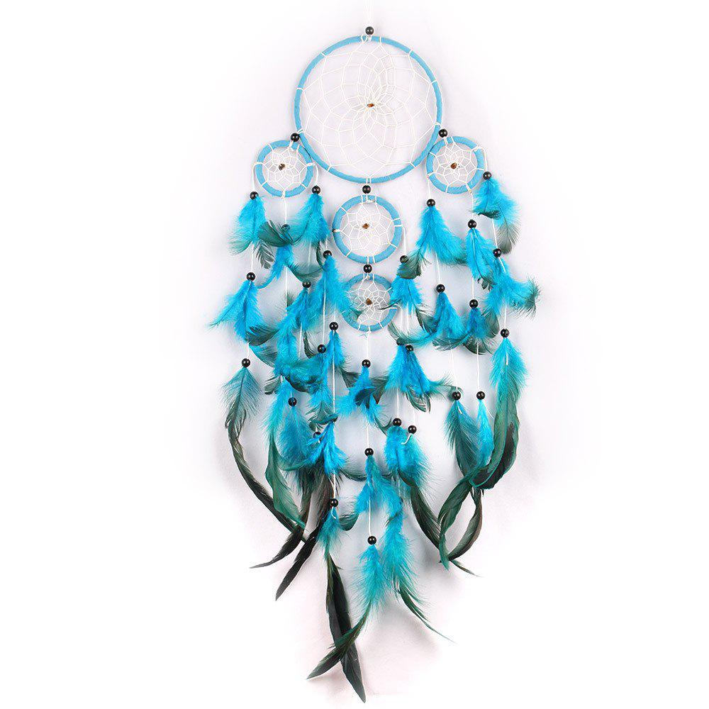 Кружева Dream Catcher Hanging Circle Feather Flowers China Dreamcatcher