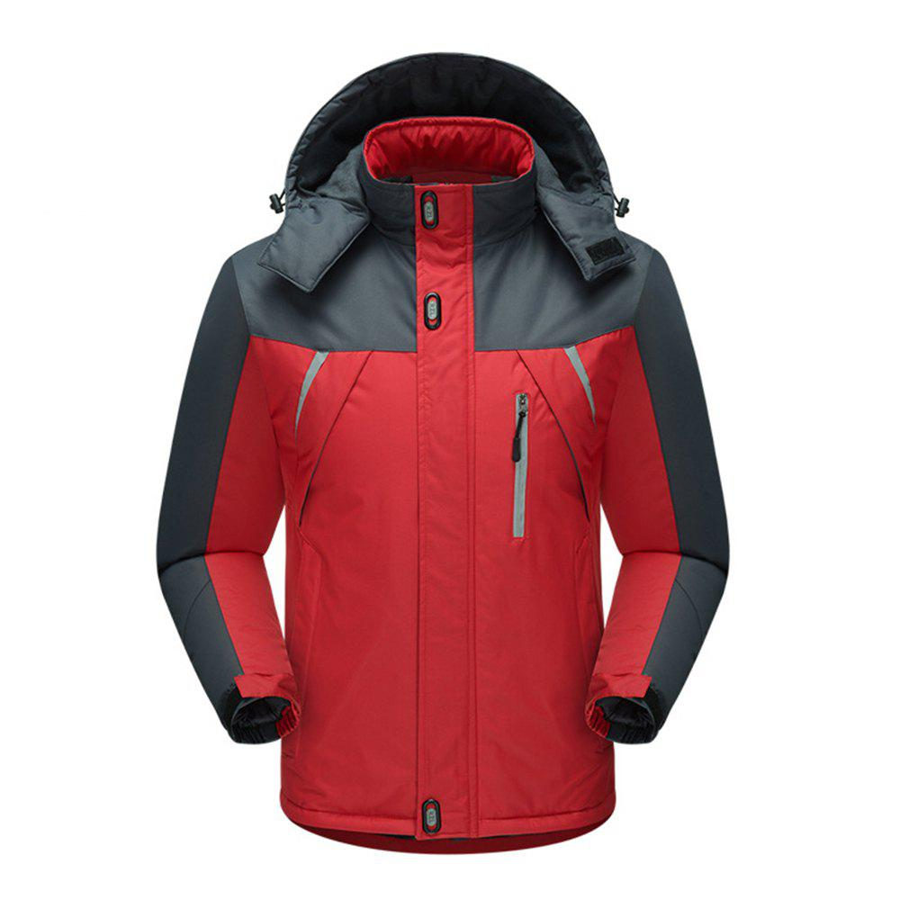 Trendy Outdoor Stormsuits Big Size Hiking Suits Pillow Top Cotton Ski Suits