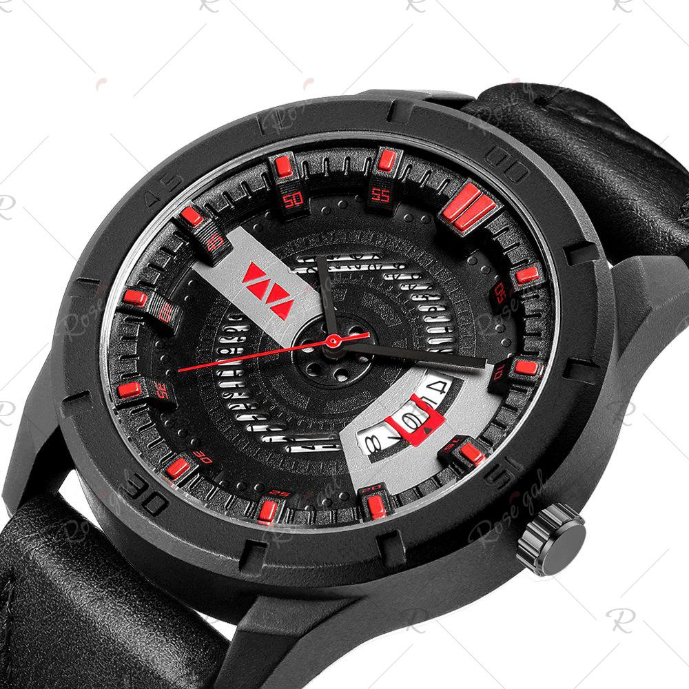 Buy Men's Sports Leisure Fashion Quartz Calendar Watch
